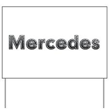 Mercedes Metal Yard Sign