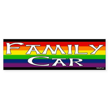 from Cruz bumper gay pride sticker