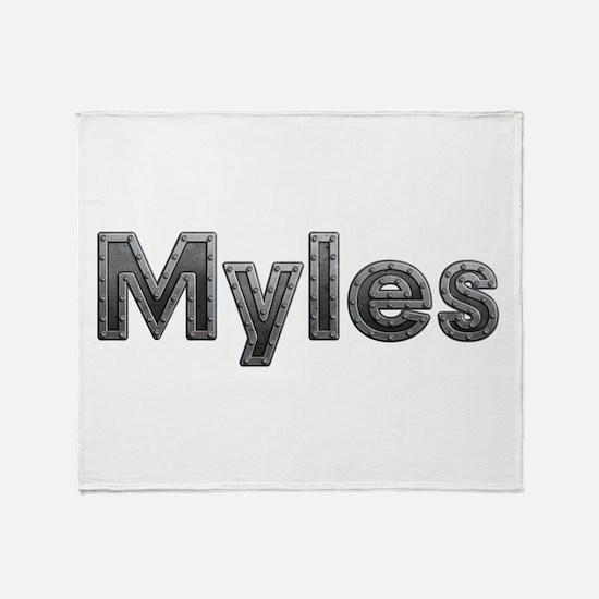 Myles Metal Throw Blanket