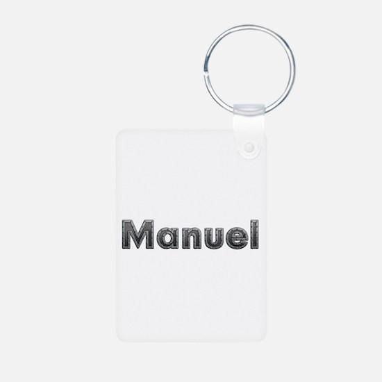 Manuel Metal Aluminum Keychain
