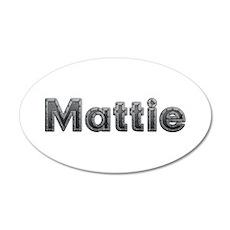 Mattie Metal Wall Decal