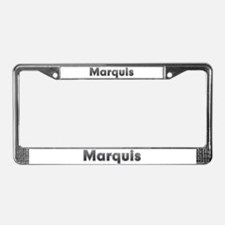 Marquis Metal License Plate Frame