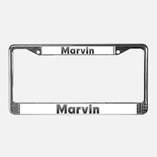Marvin Metal License Plate Frame