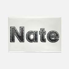 Nate Metal Rectangle Magnet