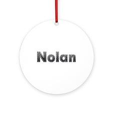 Nolan Metal Round Ornament