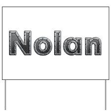 Nolan Metal Yard Sign