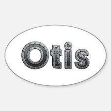 Otis Metal Oval Decal