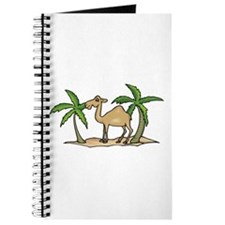 Cute Camel and Palm Trees Design Journal