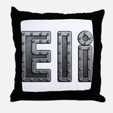 Eli Metal Throw Pillow