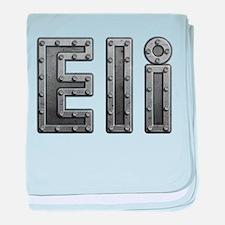 Eli Metal baby blanket