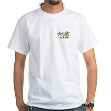Cute Camel and Palm Trees Design Shirt