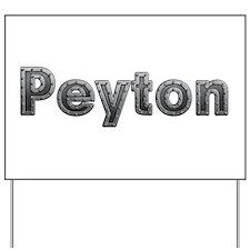 Peyton Metal Yard Sign