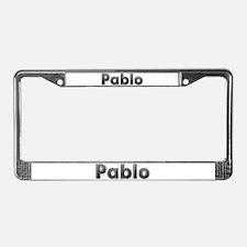 Pablo Metal License Plate Frame