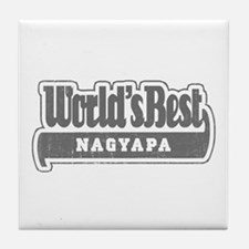 WB Grandpa [Hungarian] Tile Coaster