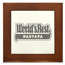 WB Grandpa [Hungarian] Framed Tile