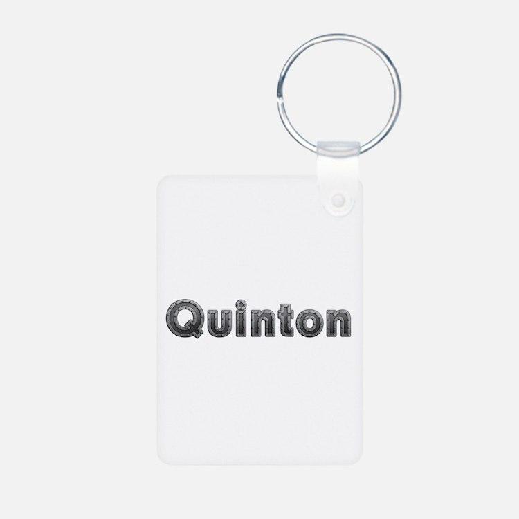 Quinton Metal Aluminum Keychain