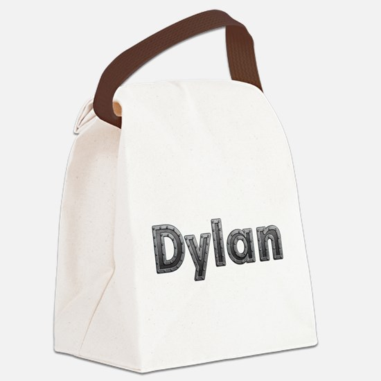 Dylan Metal Canvas Lunch Bag