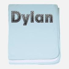 Dylan Metal baby blanket