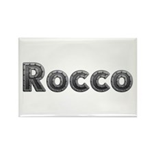 Rocco Metal Rectangle Magnet