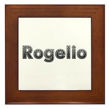Rogelio Metal Framed Tile