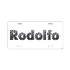 Rodolfo Metal Aluminum License Plate