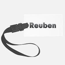 Reuben Metal Luggage Tag