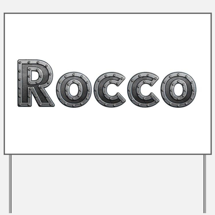 Rocco Metal Yard Sign