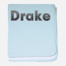 Drake Metal baby blanket