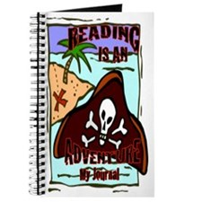 Reading Is An Adventure Pirate Journal