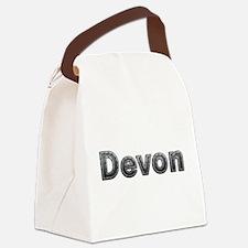 Devon Metal Canvas Lunch Bag