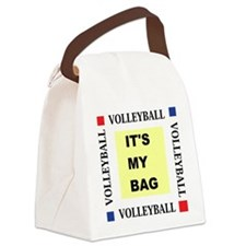 Volleyball - Its My Bag Canvas Lunch Bag