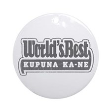 WB Grandpa [Hawaiian] Ornament (Round)
