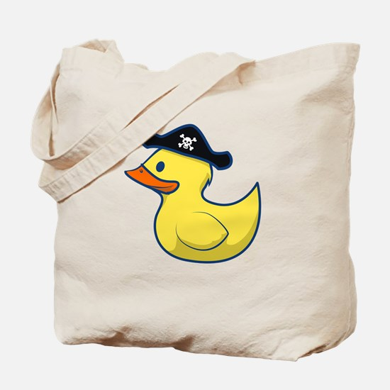 Pirate Duck Tote Bag