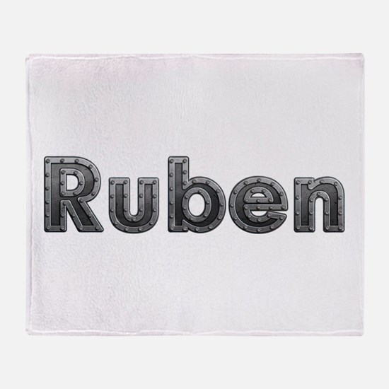 Ruben Metal Throw Blanket