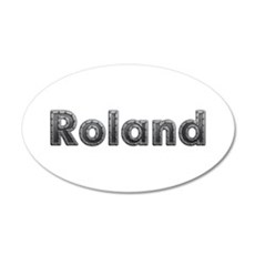 Roland Metal Wall Decal