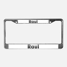 Raul Metal License Plate Frame