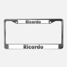 Ricardo Metal License Plate Frame