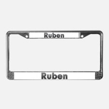 Ruben Metal License Plate Frame