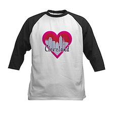 Cleveland Skyline Heart Baseball Jersey