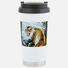 Chinese Tiger Stainless Steel Travel Mug