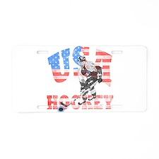 USA hockey Aluminum License Plate