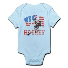 USA hockey Body Suit