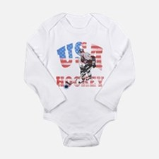 USA hockey Body Suit