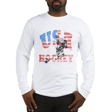 USA hockey Long Sleeve T-Shirt