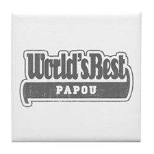WB Grandpa [Greek] Tile Coaster