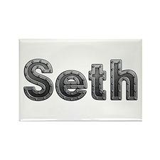 Seth Metal Rectangle Magnet