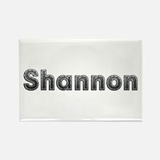 Shannon Metal Rectangle Magnet