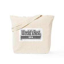 WB Grandpa [German] Tote Bag