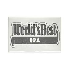 WB Grandpa [German] Rectangle Magnet