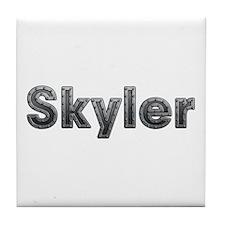 Skyler Metal Tile Coaster